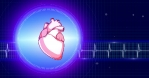 Real Heart Beat Background 7