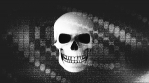 Abstract Background Halloween Static Scary Skull 18