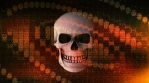 Abstract Background Halloween Static Scary Skull 19