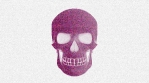 Abstract Background Halloween Static Scary Skull 2