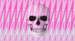 Abstract Background Halloween Static Scary Skull 23