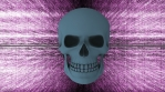 Abstract Background Halloween Static Scary Skull 25