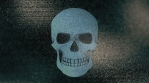 Abstract Background Halloween Static Scary Skull 27