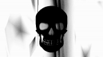 Abstract Background Halloween Static Scary Skull 4