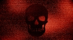 Abstract Background Halloween Static Scary Skull 9