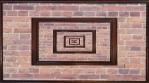 Framed Brick Wall 1