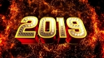 New Year's Eve Party VJ Loops Celebrate 2019 Visuals