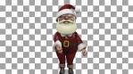 Santa Claus Dancing Swish Swish Loop