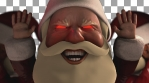 President Santa Claus Greeting Loop