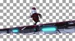 Christmas Terminator Running