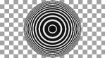 Concentric Op Art Circles 02