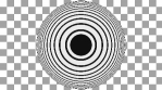 Concentric Op Art Circles 03