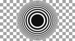 Concentric Op Art Circles 04