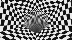 Gravity Collapse Op Art Hole Hexagon 01