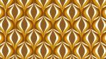 Retro Seventies Brown Eyed Tile Pattern 01