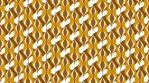 Retro Seventies Brown Eyed Tile Pattern 04
