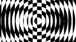 Op Art Inverted Concentric Circles Lines 01