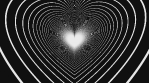 Hypno Love Op Art Heart Tunnel 01