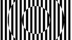 Op Art Inverted Concentric Circles Lines 03