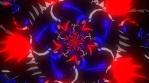Arrow Box Red and Blue Mandala 03