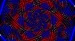 Arrow Box Red and Blue Mandala 05