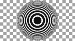 Concentric Op Art Circles 01