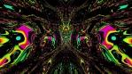 mirror psychedelic waves