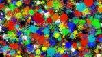 Paintball Splatter Background 01