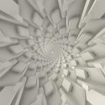 Mesmerizing Soft Geometry Spiral 06