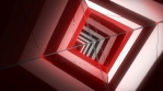 SIMPLE RED 3D TUNNEL HD