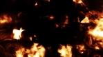 Fire Glitch Background
