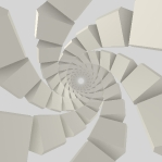 Mesmerizing Soft Geometry Spiral 01