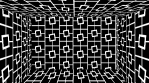Art Deco 3D Room Squares Lines