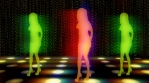 Club2 Silhouette Glow Dancers
