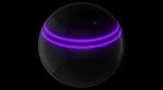 Disco Sphere - Neon Lines Horizontal - 125bpm