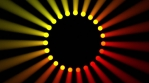 Gobo - Ring - Dotted - Red Yellow - 125bpm