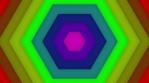 Lightbox - Hexagon - 1-on - Rainbow - 125bpm