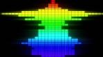 Spectrum - LED Horizontal - Rainbow - 125bpm