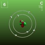 06 Animated Classic Carbon Element Orbit