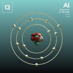 13 Animated Classic Aluminium Element Orbit