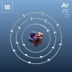 18 Animated Classic Argon Element Orbit