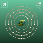 31 Animated Classic Gallium Element Orbit
