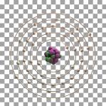 40 Animated Classic Zirconium Element Orbit Alpha
