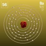 56 Animated Classic Barium Element Orbit