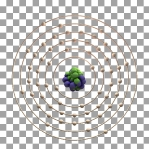 59 Animated Classic Praseodymium Element Orbit Alpha
