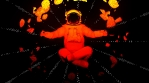 Neon Cosmonaut 4K