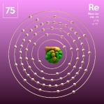 75 animated Classic Rhenium Element Orbit