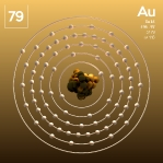 79 animated Classic Gold Element Orbit