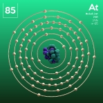 85 animated Classic Astatine Element Orbit Alpha