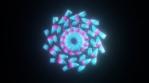 Geo Circular Mandalian Glow 01